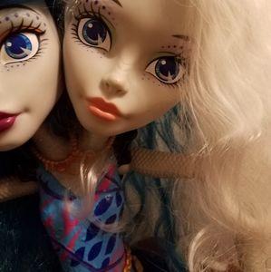 Monster High two-headed